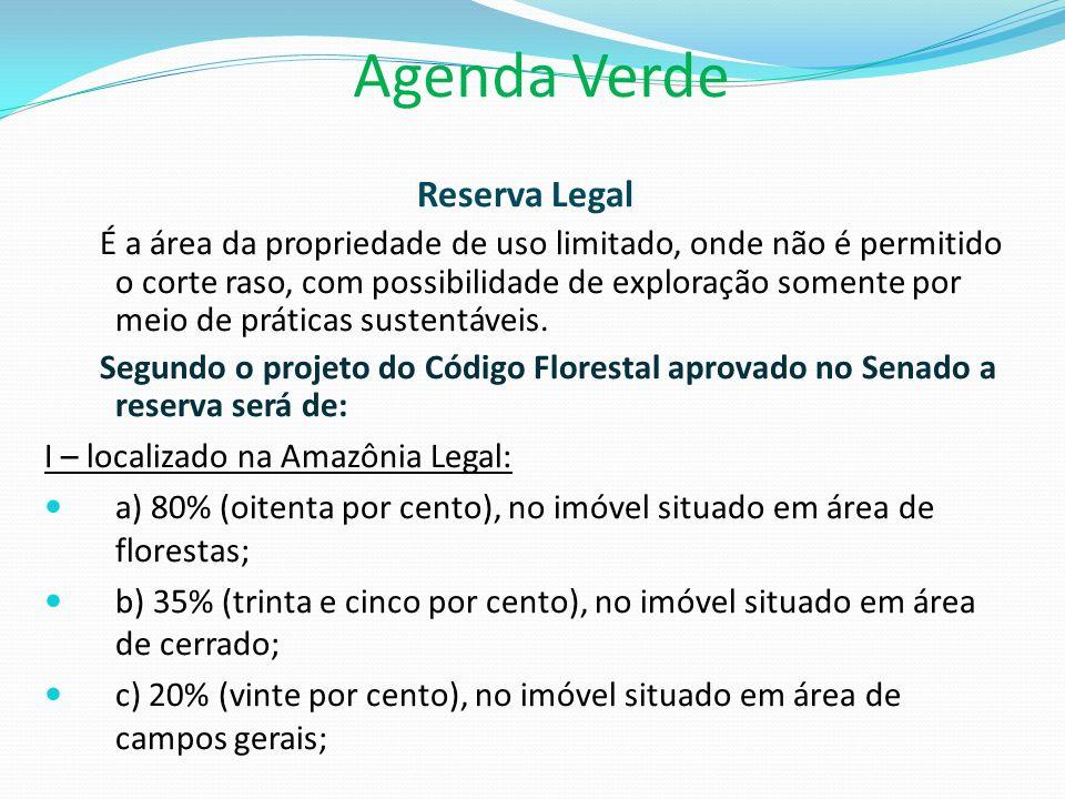 Agenda Verde Reserva Legal
