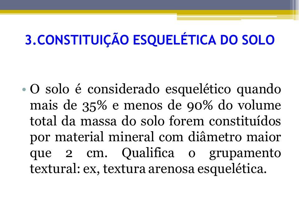 3.CONSTITUIÇÃO ESQUELÉTICA DO SOLO