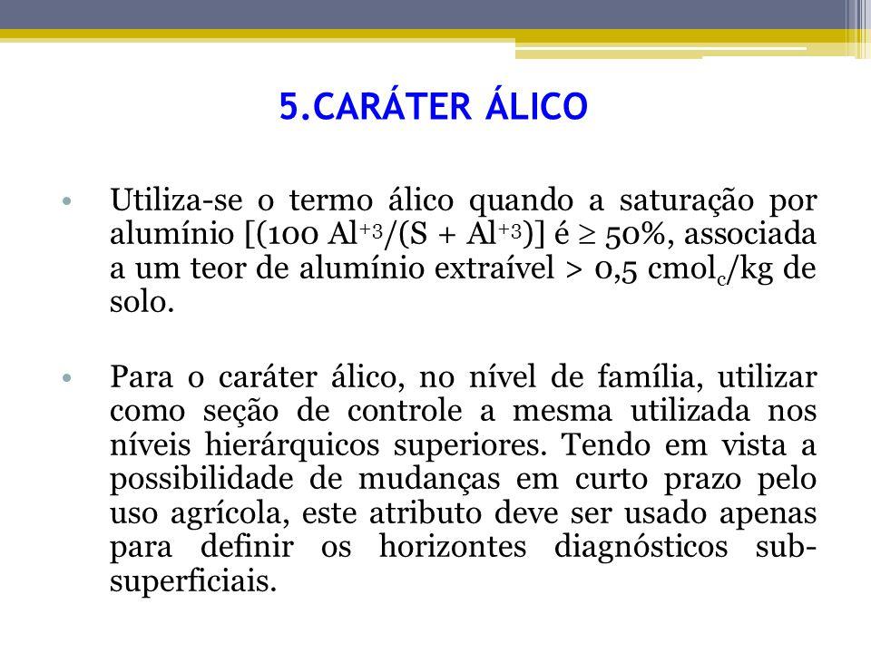 5.CARÁTER ÁLICO