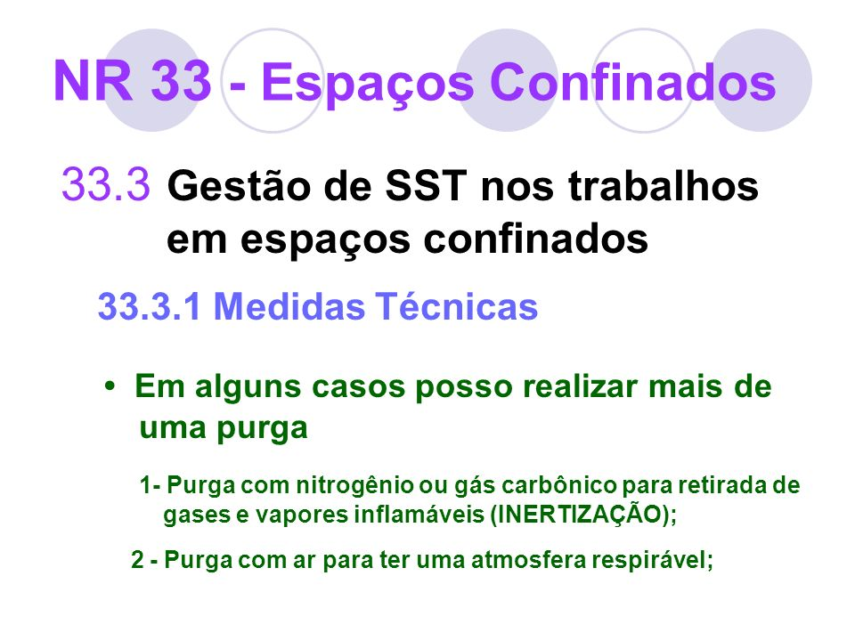 NR 33 - Espaços Confinados