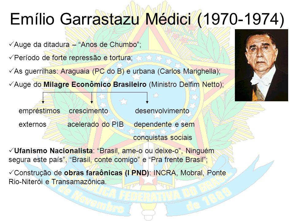 Emílio Garrastazu Médici (1970-1974)