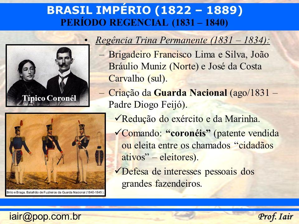 Regência Trina Permanente (1831 – 1834):