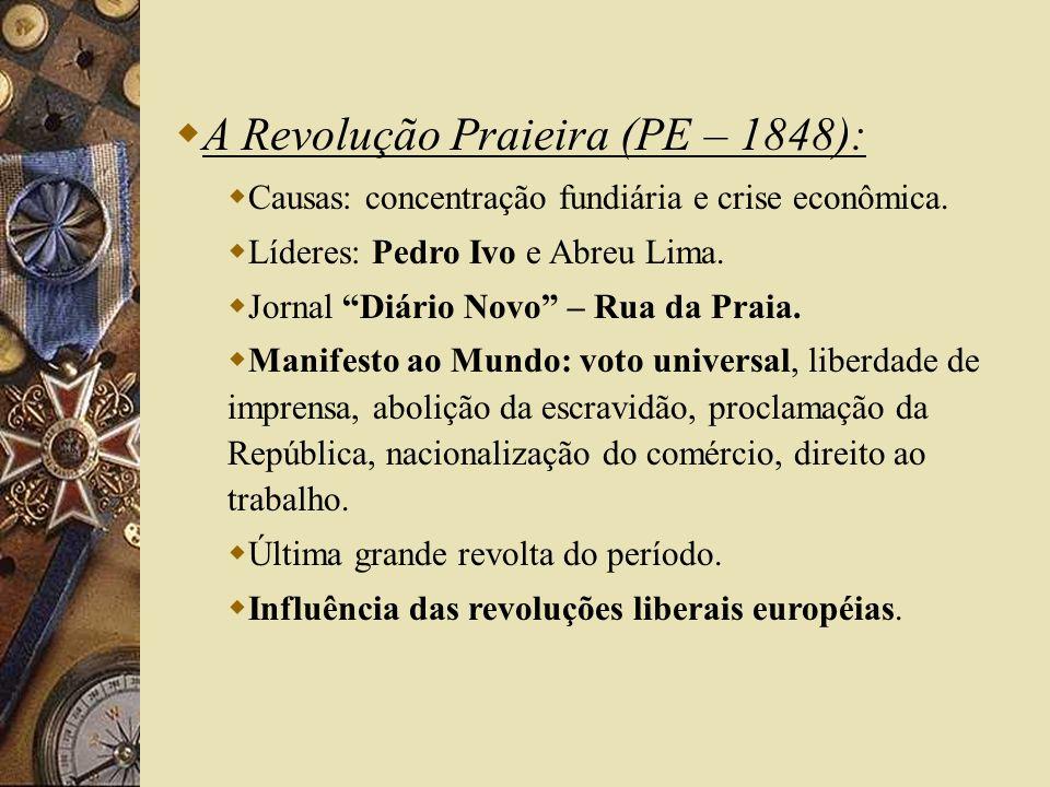 A Revolução Praieira (PE – 1848):