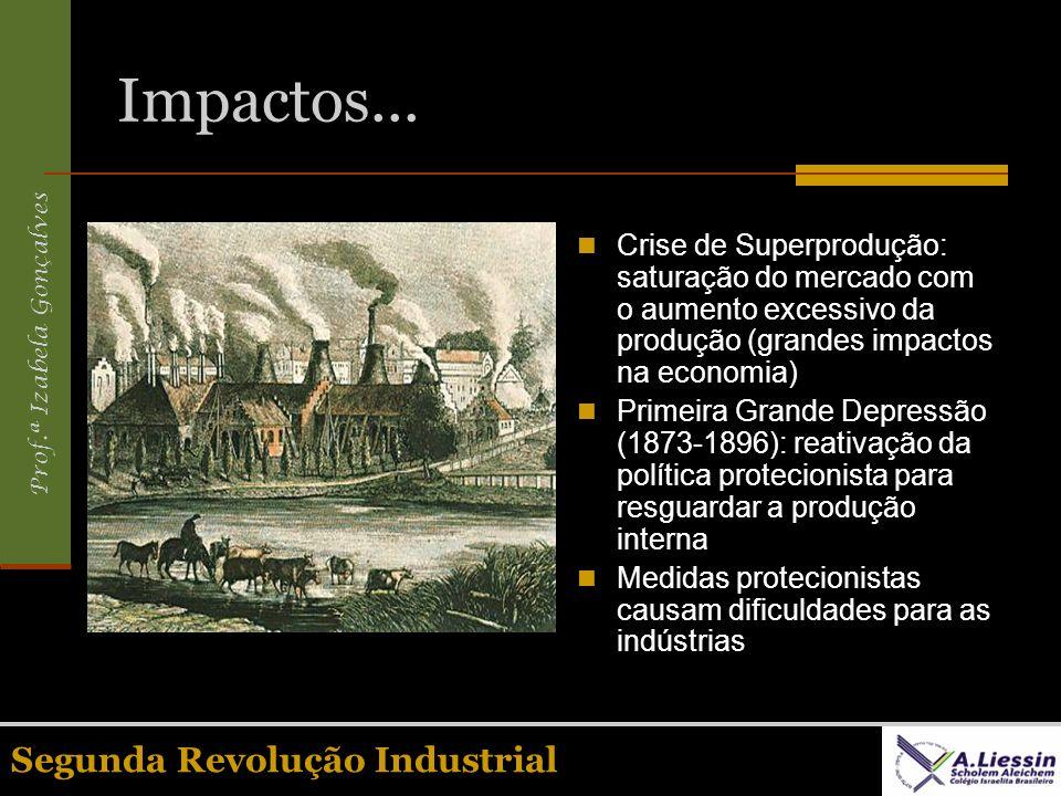 Impactos... Segunda Revolução Industrial