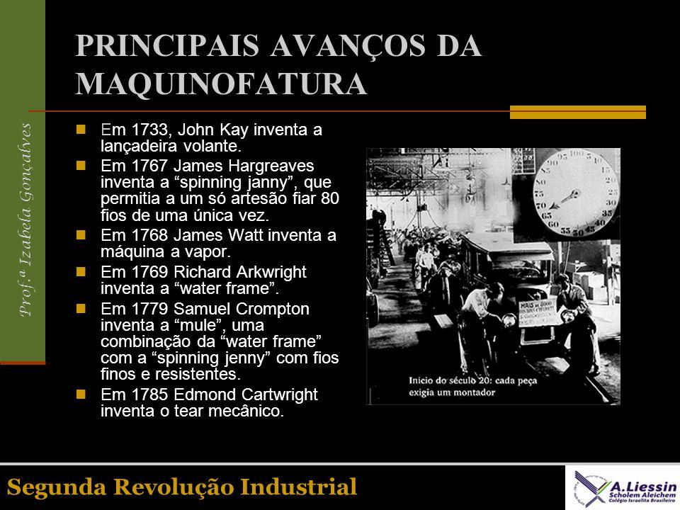 PRINCIPAIS AVANÇOS DA MAQUINOFATURA