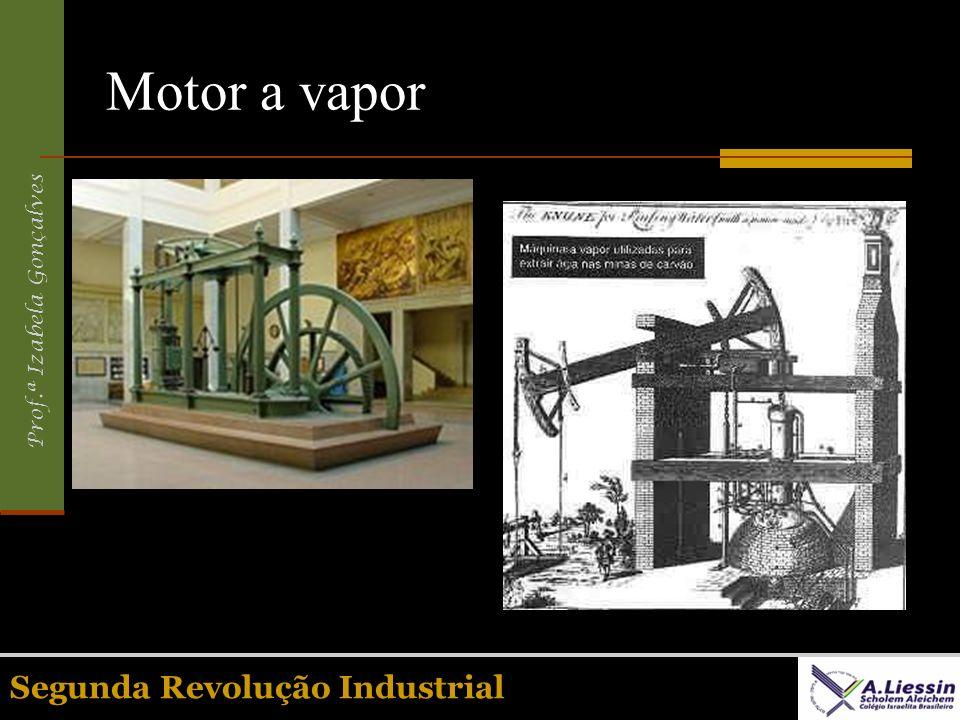 Motor a vapor Segunda Revolução Industrial