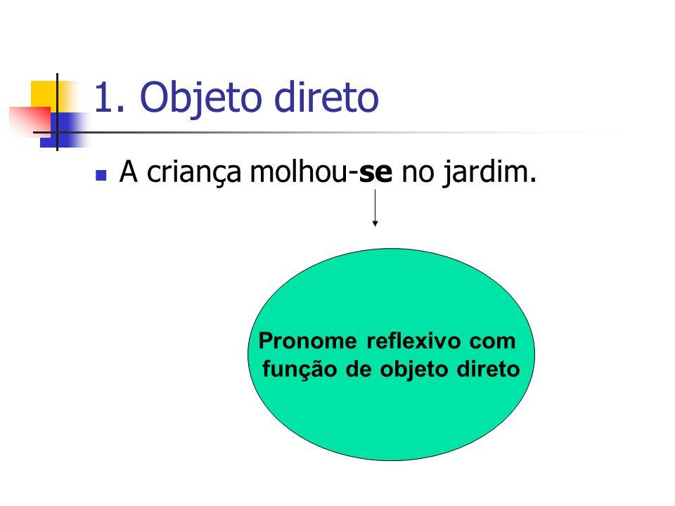 função de objeto direto