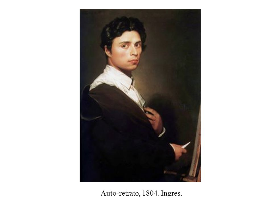 Auto-retrato, 1804. Ingres.