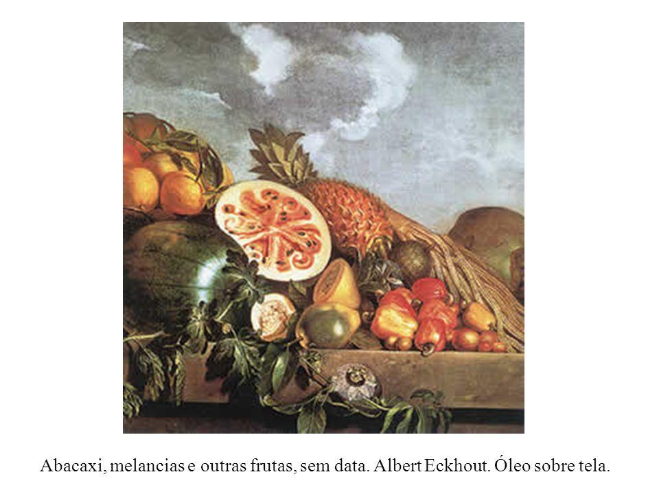 Abacaxi, melancias e outras frutas, sem data. Albert Eckhout