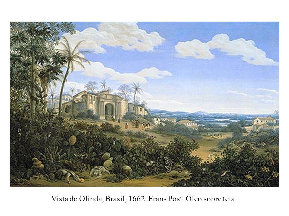 Vista de Olinda, Brasil, 1662. Frans Post. Óleo sobre tela.