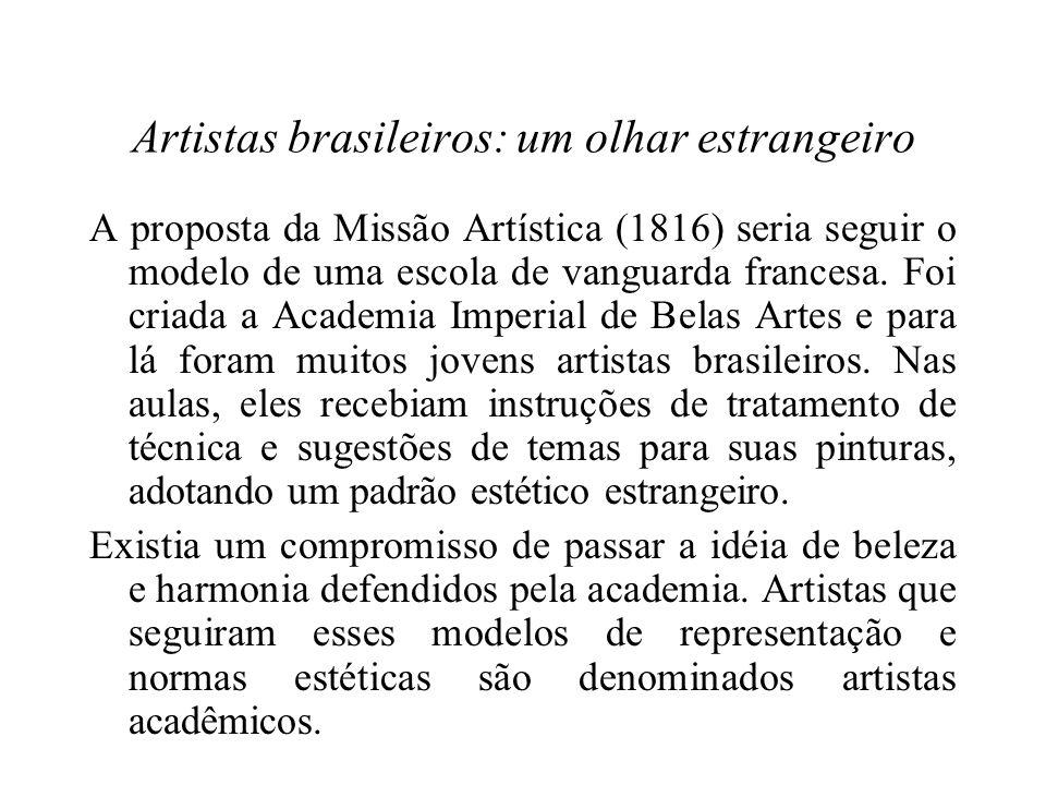 Artistas brasileiros: um olhar estrangeiro