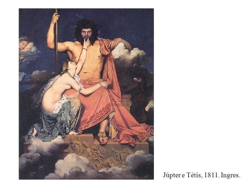 Júpter e Tétis, 1811. Ingres.