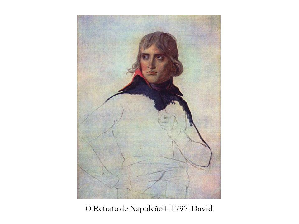 O Retrato de Napoleão I, 1797. David.