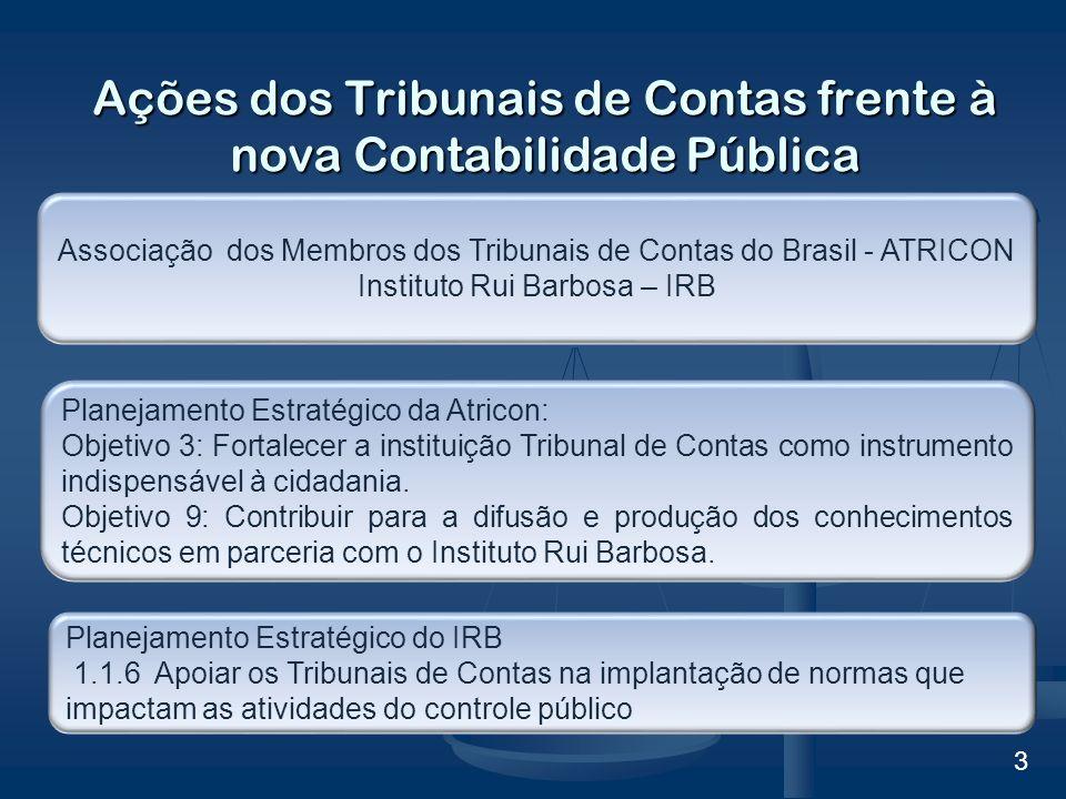 Ações dos Tribunais de Contas frente à nova Contabilidade Pública