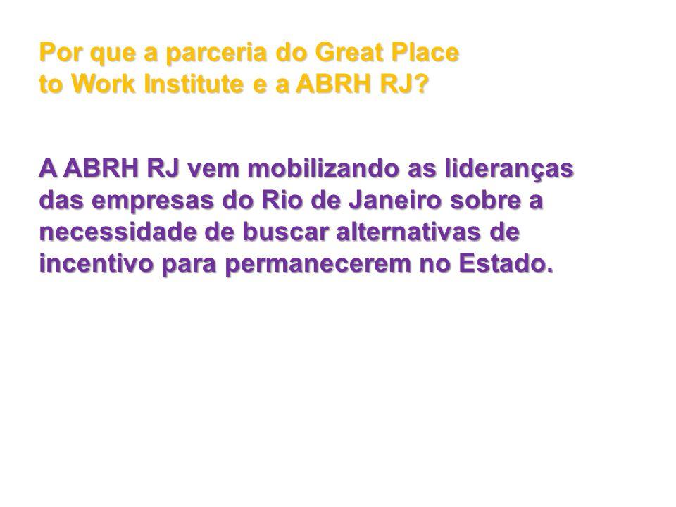 Por que a parceria do Great Place to Work Institute e a ABRH RJ