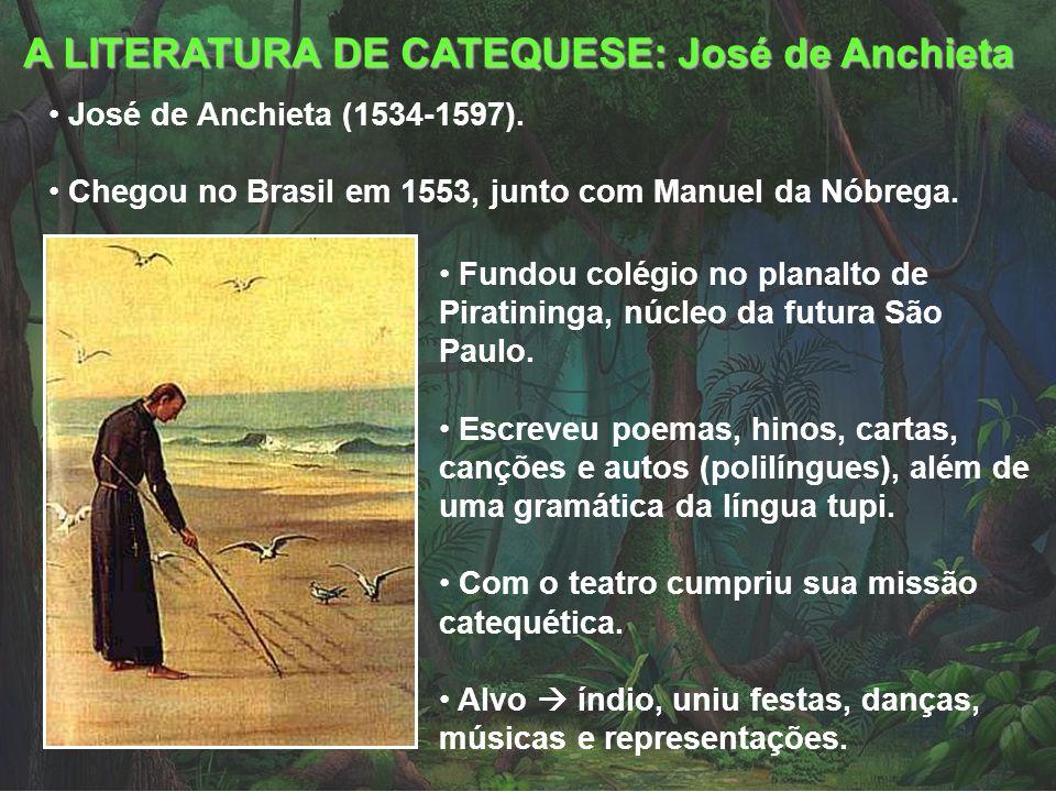 A LITERATURA DE CATEQUESE: José de Anchieta