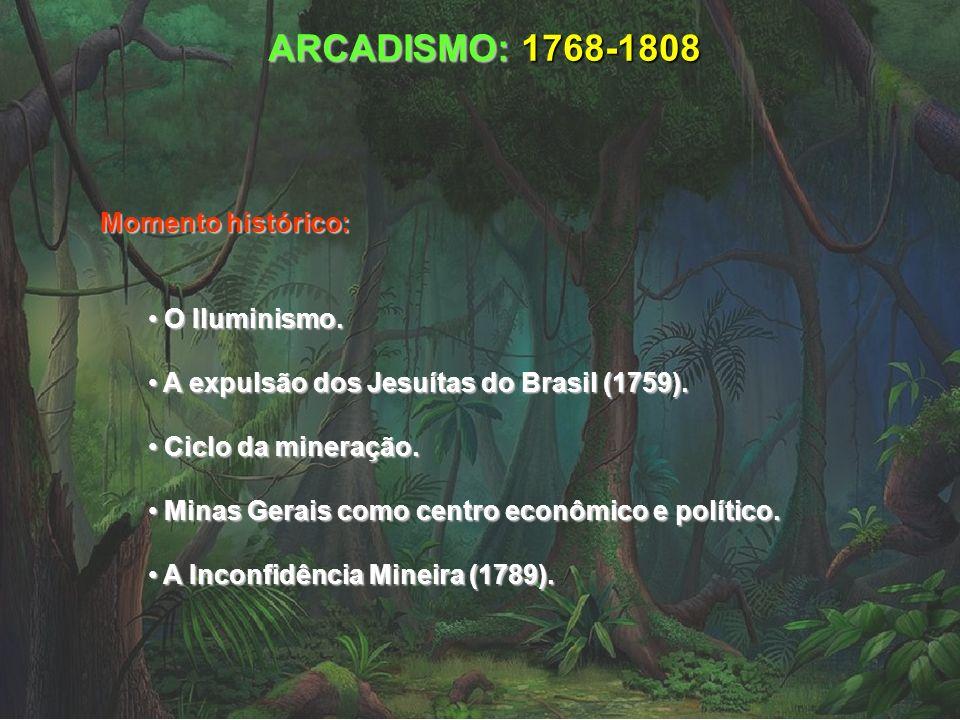 ARCADISMO: 1768-1808 Momento histórico: O Iluminismo.