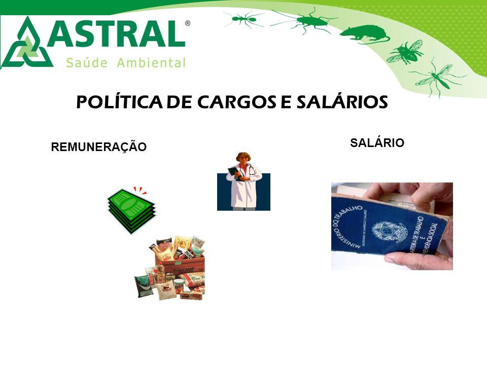 POLÍTICA DE CARGOS E SALÁRIOS