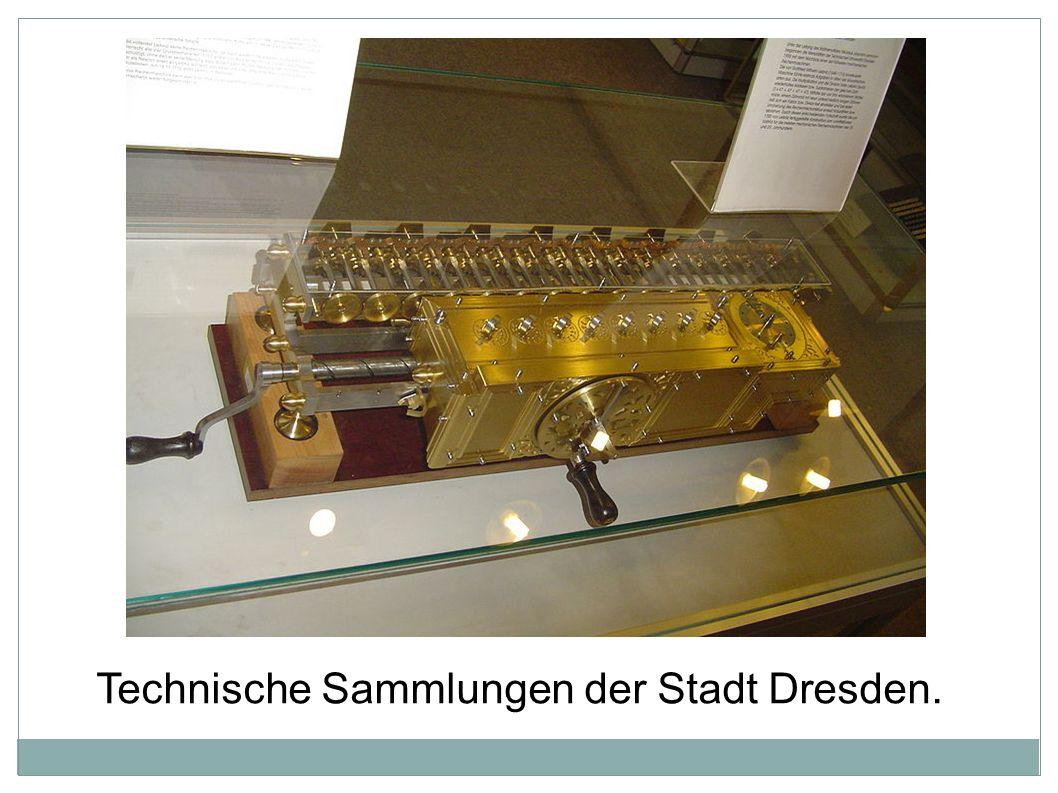 Technische Sammlungen der Stadt Dresden.