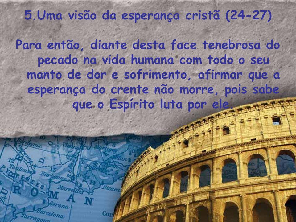 5.Uma visão da esperança cristã (24-27)