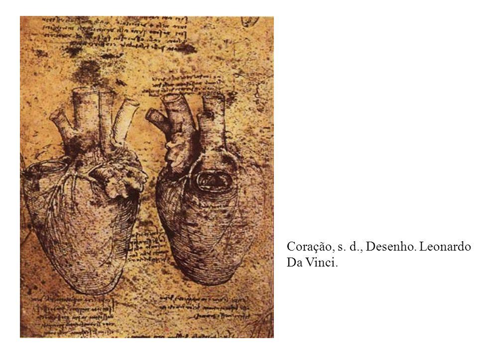 Coração, s. d., Desenho. Leonardo