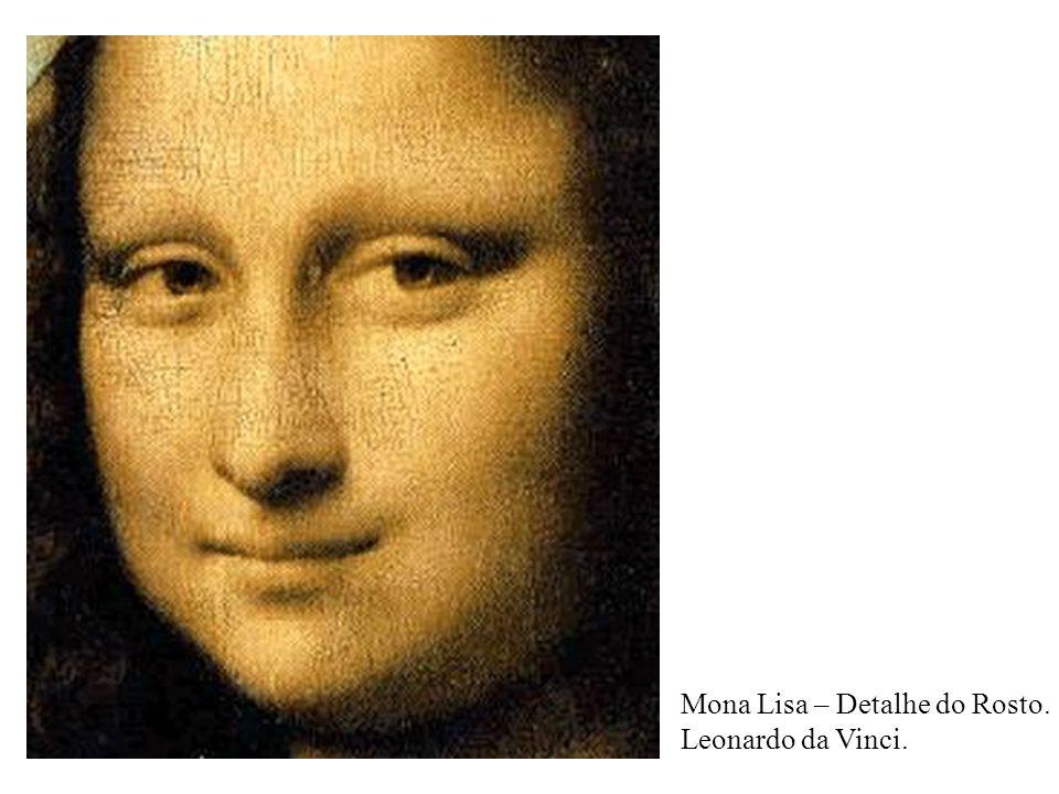 Mona Lisa – Detalhe do Rosto.