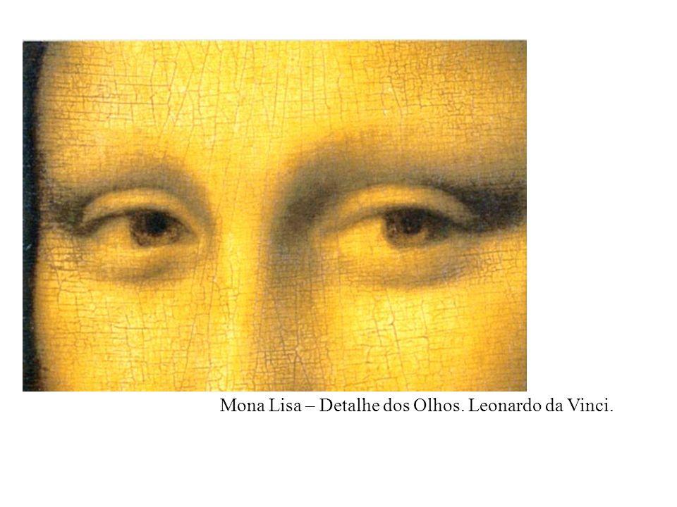 Mona Lisa – Detalhe dos Olhos. Leonardo da Vinci.