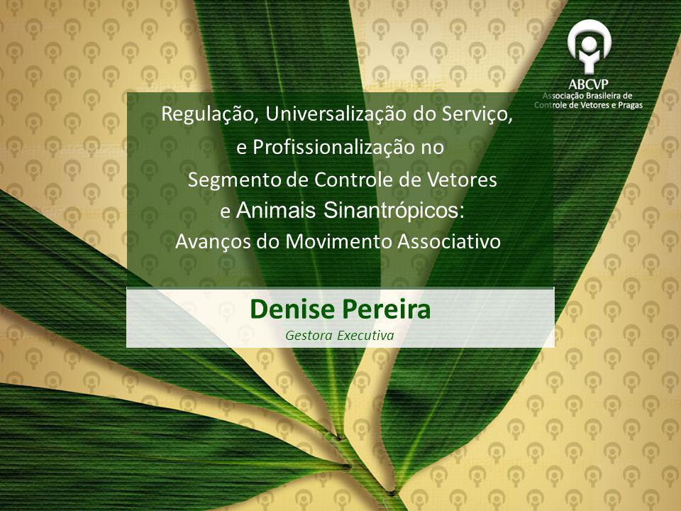 Denise Pereira Regulação, Universalização do Serviço,