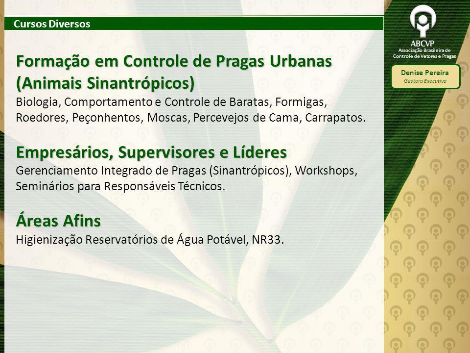 Formação em Controle de Pragas Urbanas (Animais Sinantrópicos)