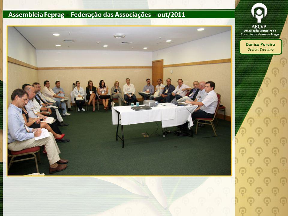 Assembleia Feprag – Federação das Associações – out/2011