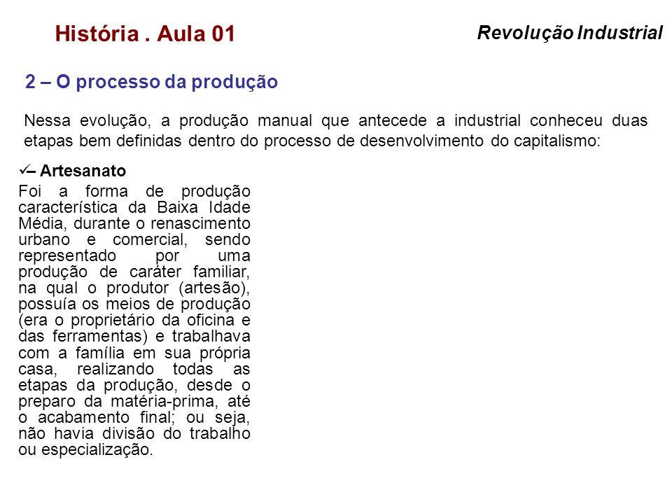 2 – O processo da produção