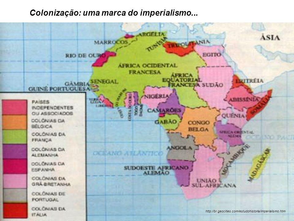 Colonização: uma marca do imperialismo...