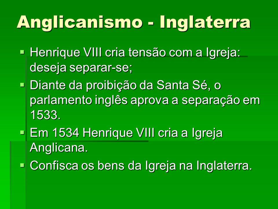 Anglicanismo - Inglaterra