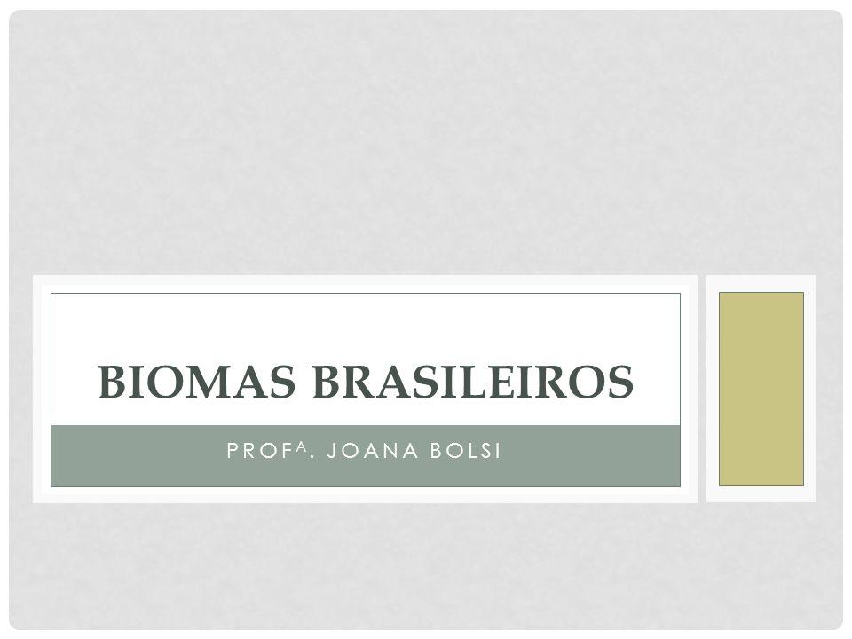 BIOMAS BRASILEIROS Profa. Joana Bolsi