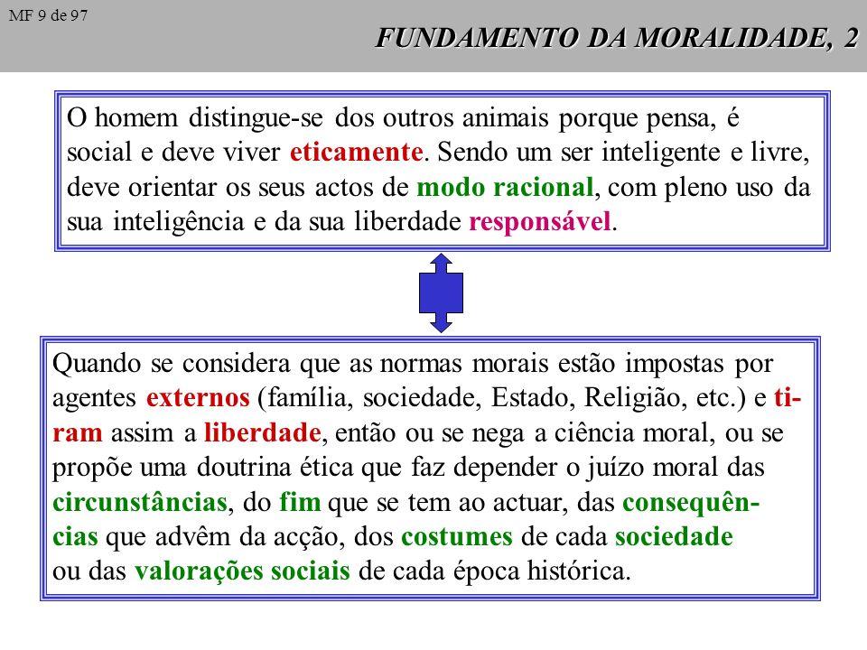 FUNDAMENTO DA MORALIDADE, 2