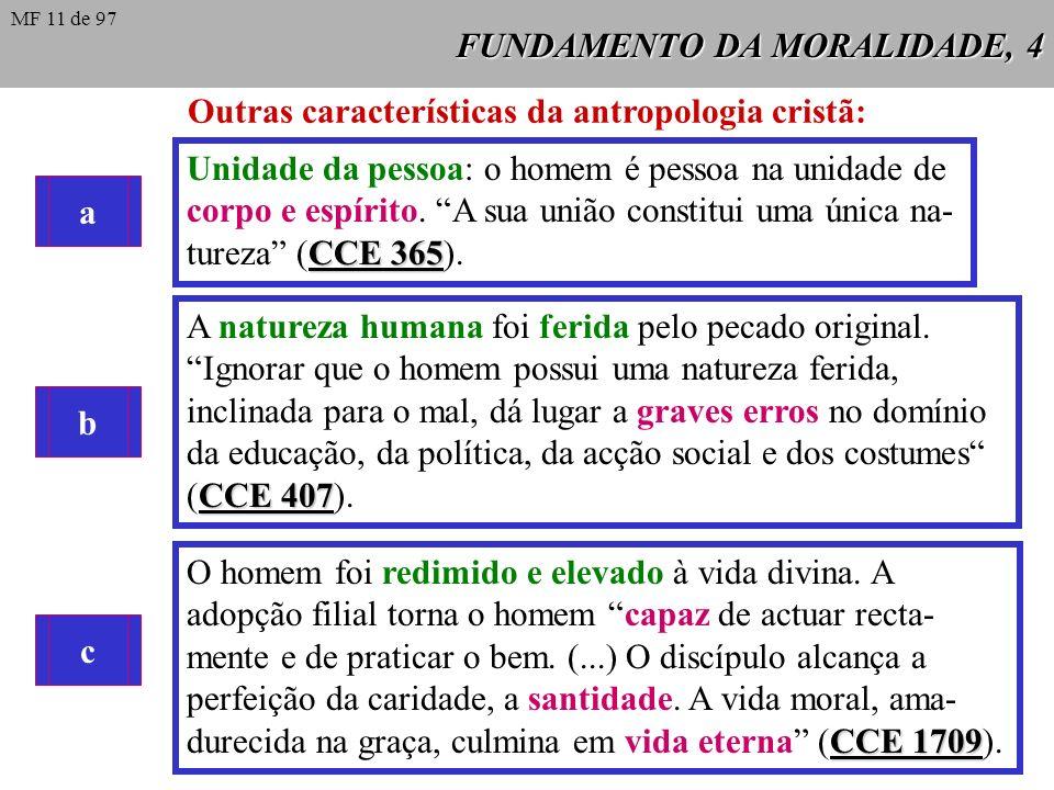 FUNDAMENTO DA MORALIDADE, 4