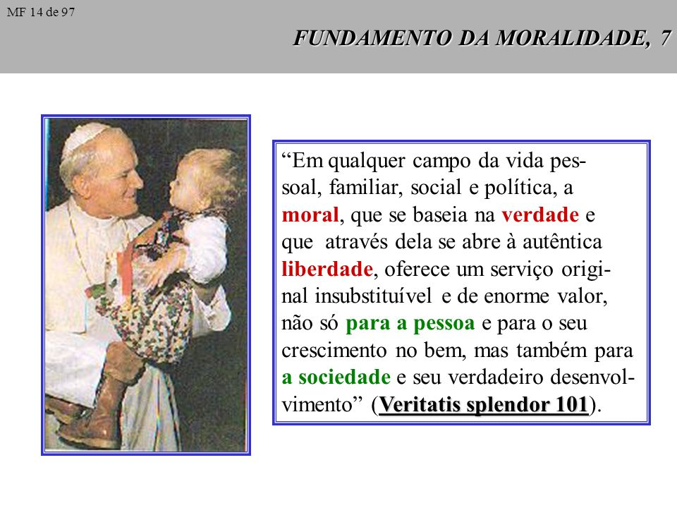 FUNDAMENTO DA MORALIDADE, 7