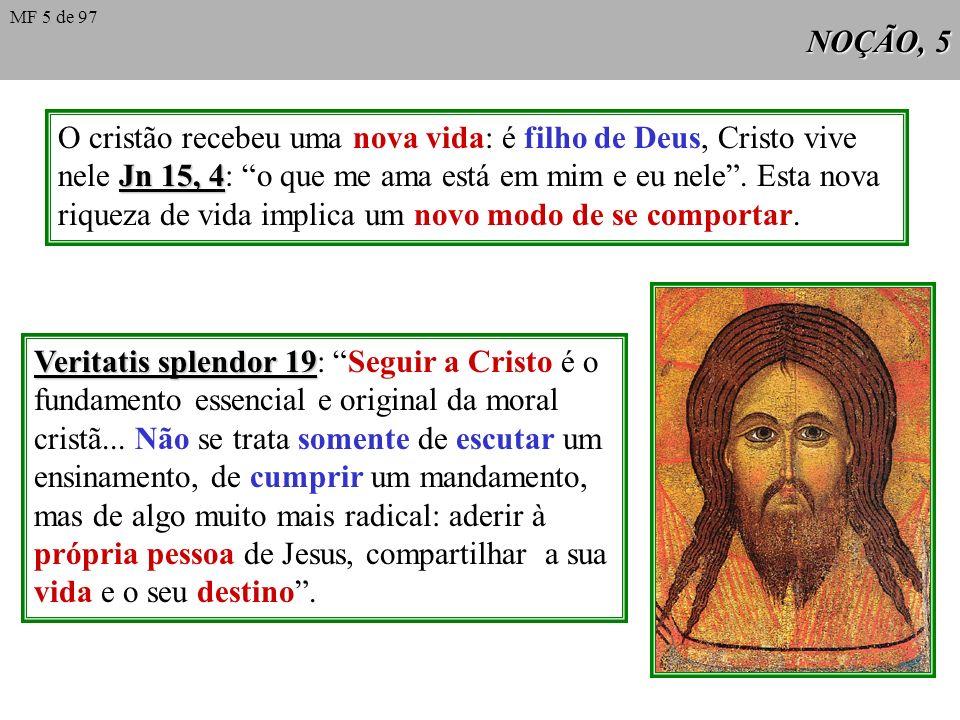 O cristão recebeu uma nova vida: é filho de Deus, Cristo vive