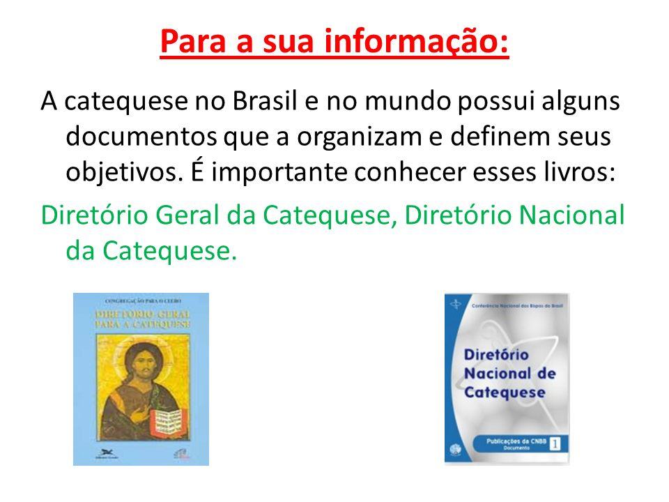 Para a sua informação: