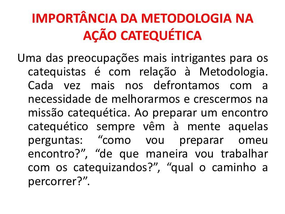 IMPORTÂNCIA DA METODOLOGIA NA AÇÃO CATEQUÉTICA