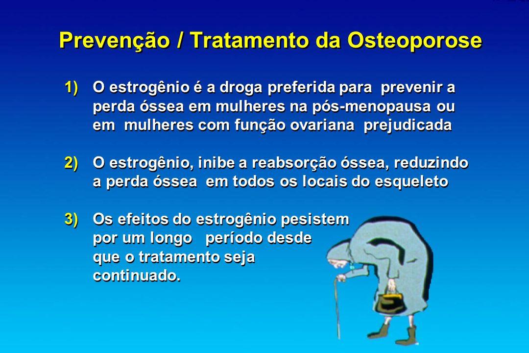 Prevenção / Tratamento da Osteoporose