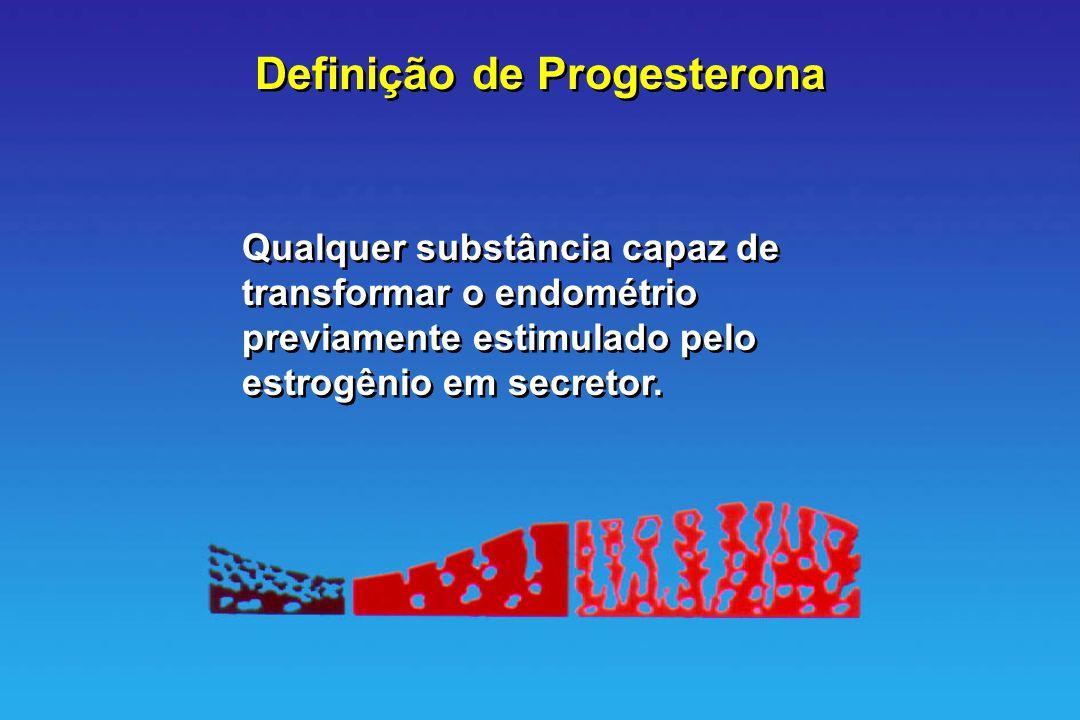 Definição de Progesterona