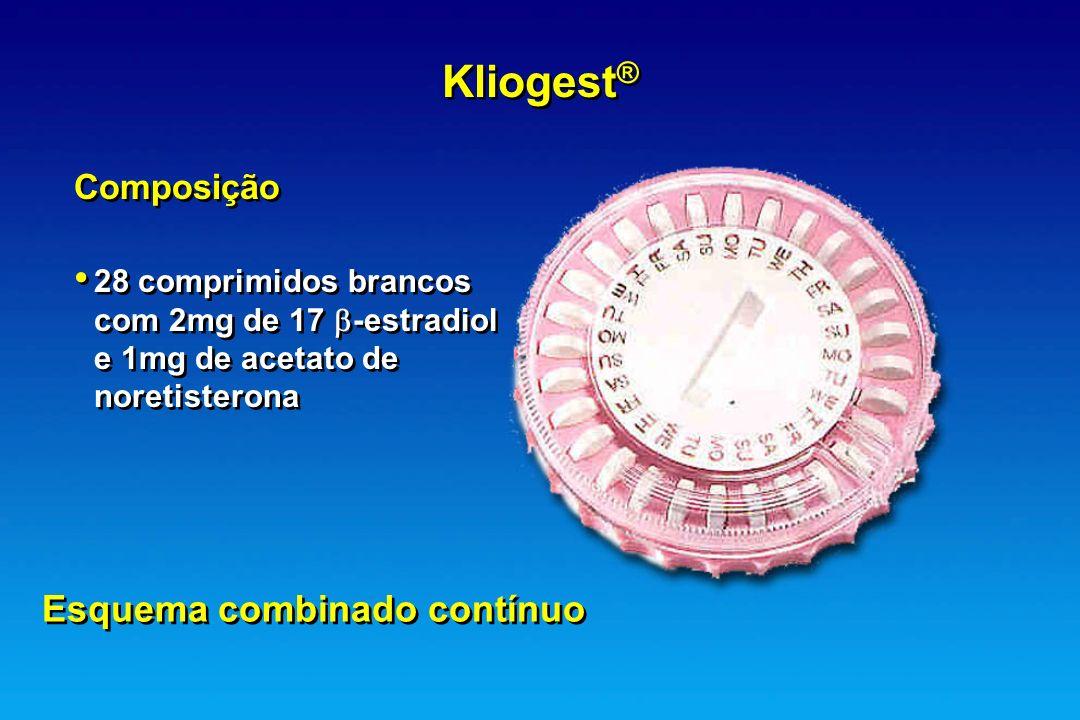 Kliogest® Esquema combinado contínuo Composição