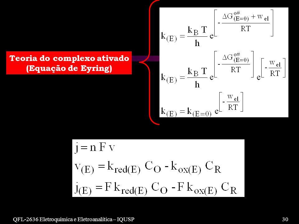 Teoria do complexo ativado