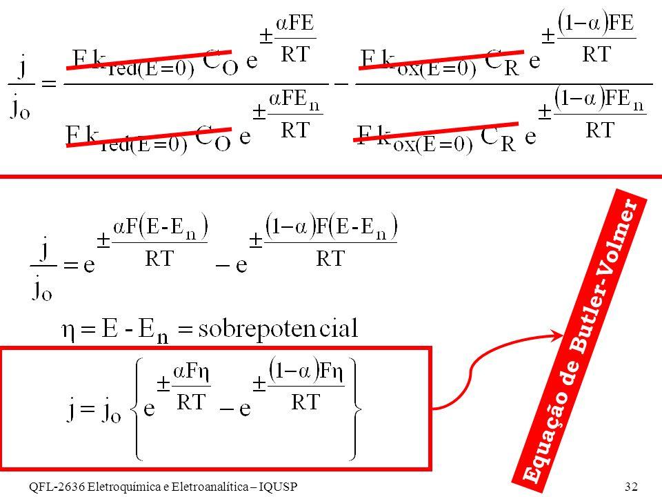 Equação de Butler-Volmer