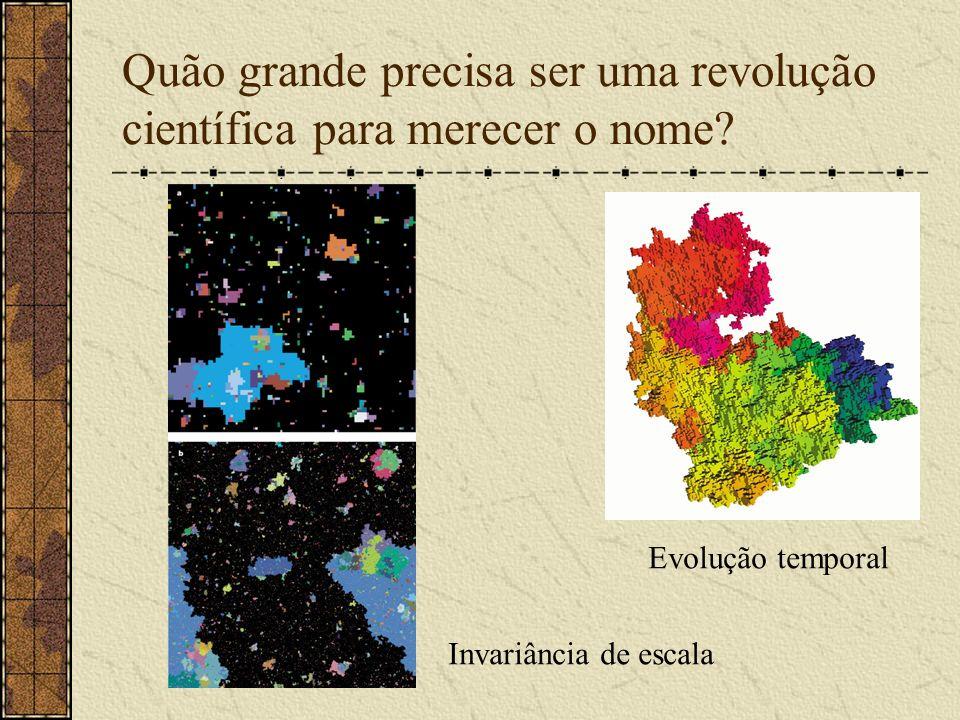 Quão grande precisa ser uma revolução científica para merecer o nome