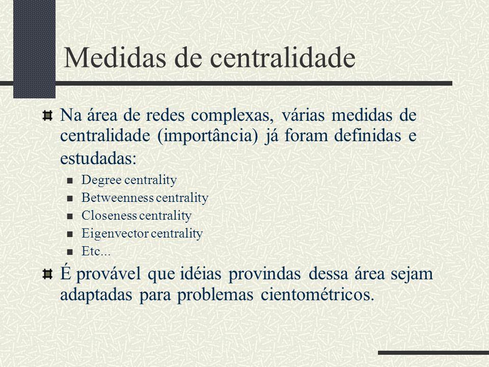 Medidas de centralidade