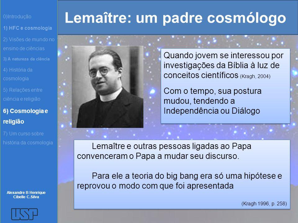 Lemaître: um padre cosmólogo