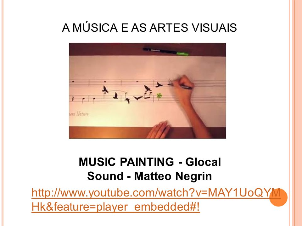 MUSIC PAINTING - Glocal Sound - Matteo Negrin