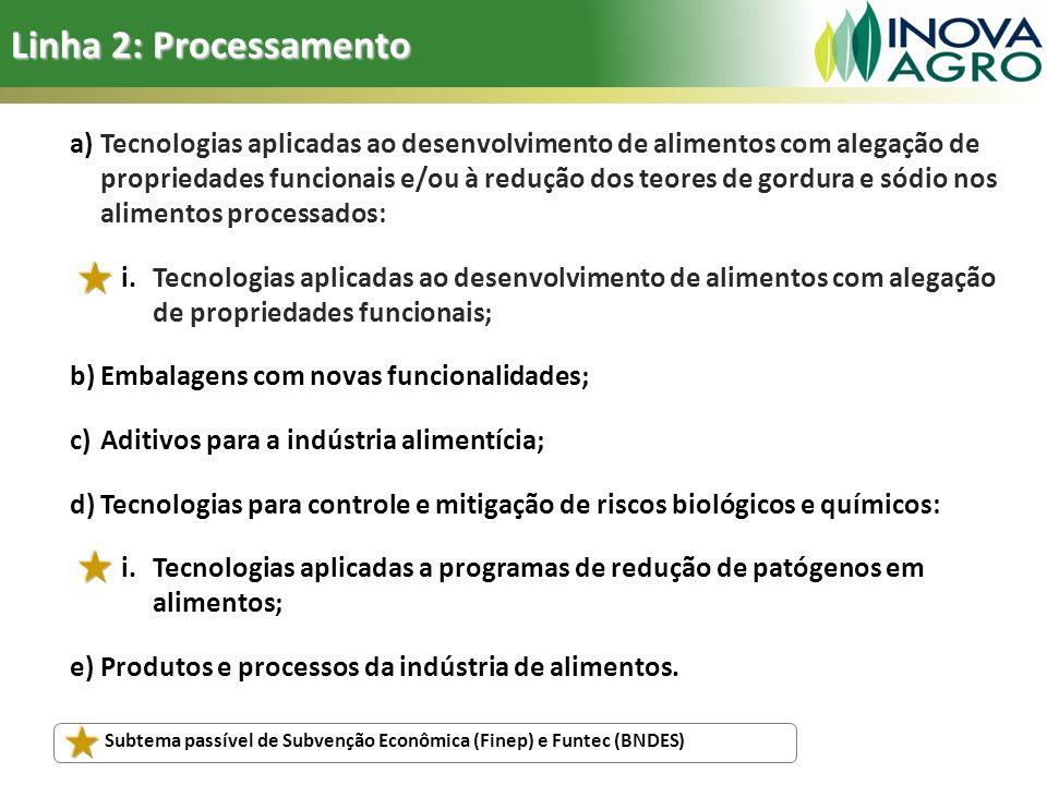 Linha 2: Processamento